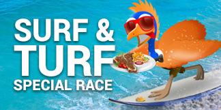Surf and Turf Casino Race